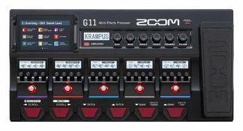 Zoom G11 - pedaliera multieffetto, amp-simulator, interfaccia audio