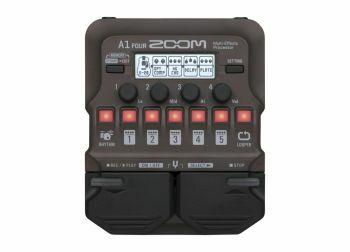 Zoom A1 FOUR - multieffetto per chitarra acustica