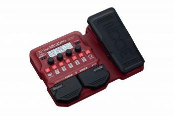 Zoom B1X FOUR - pedaliera multieffetto, amp-simulator per basso con pedale d'espressione