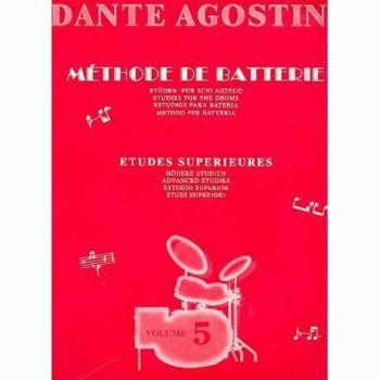 Dante Agostini Méthode de Batterie  Volume 5  METODO DI BATTERIA