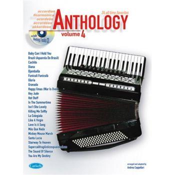 Anthology Accordion Vol. 4 + CD - fisarmonica - Andrea Cappellari