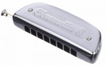 Hohner Chrometta 8 Armonica Tonalità C >Do