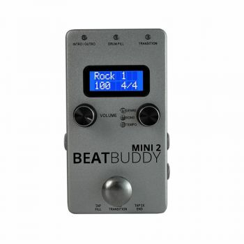 SINGULAR SOUND BEATBUDDY MINI 2 Drum machine a pedale versione Mini 2 SPEDITA GRATIS!