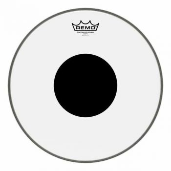 "PELLE REMO W.K. CONTROL SOUND TRASPARENTE DA 6"" Black Dot"
