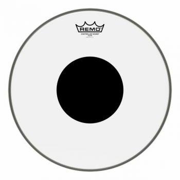 "PELLE REMO W.K. CONTROL SOUND TRASPARENTE DA 8"" Black Dot"