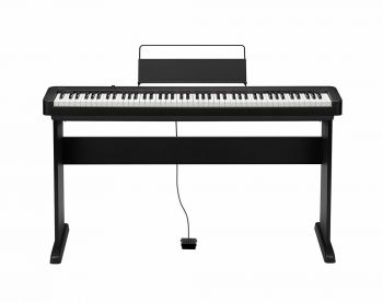 Casio CDP-S100BK Pianoforte Digitale 88 tasti pesati + Stand CS-46P