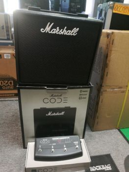 Marshall Code 25 con pedale footswitch 91009 Usato