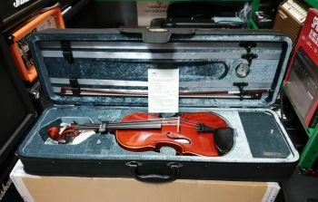 Stentor Conservatoire II VL1400 Violino 4/4 con custodia ed arco