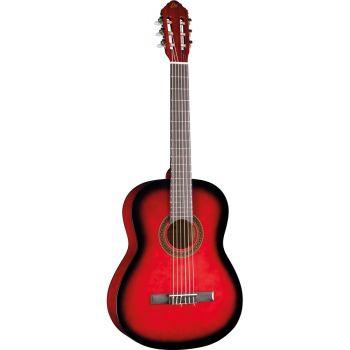 Eko Guitars - CS-10 Red Burst Classica 4/4