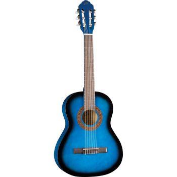 Eko Guitars - CS-5 Blue Burst Classica 3/4