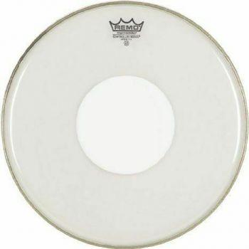 """PELLE REMO W.K. CONTROL SOUND TRASPARENTE DA 10"""" White Dot"""