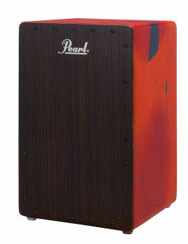 Pearl Primero Box Cajon PBC-120B in Abstract Red