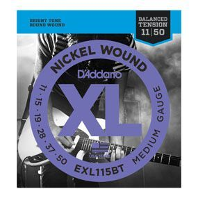 D'ADDARIO EXL115BT D'ADDARIO Nickel Wound Medium, 11-50