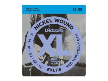 D'ADDARIO EXL116 Medium Top/Heavy