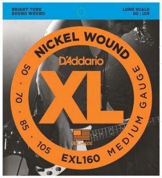D'Addario EXL160 Corde per Basso
