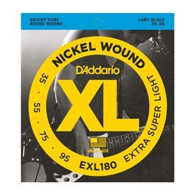 D'Addario EXL180 Bass Extra Super Soft/Long String Set