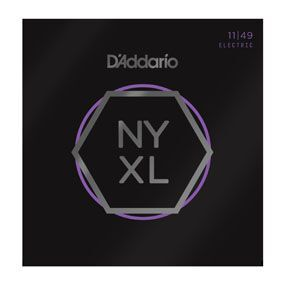 D'Addario NYXL1149 Nickel Wound Electric Guitar Strings, Medium