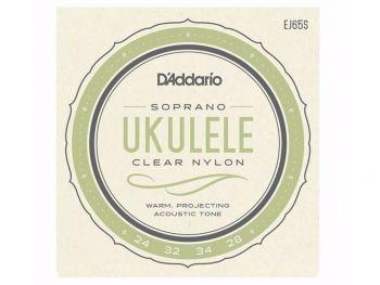 D'addario EJ65S Muta per ukulele soprano