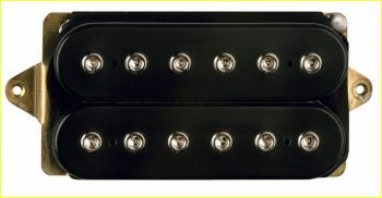 "DIMARZIO DP220FBK D Activator Bridge ""F-spaced"" nero"
