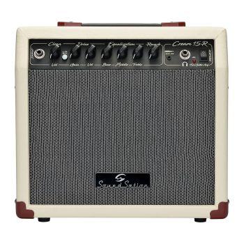 SOUNDSATION CREAM-15R Combo vintage per chitarra elettrica 15W con riverbero