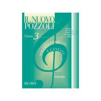 IL NUOVO POZZOLI - SOLFEGGI PARLATI E CANTATI VOL. 3 + CD