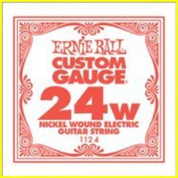 Ernie Ball 1124 - corda .024 - avvolgitura in acciaio nichela