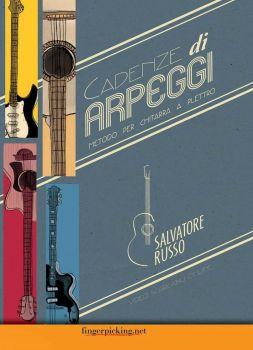 Cadenze di arpeggi metodo per chitarra a plettro di Salvatore Russo