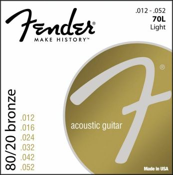 FENDER 70L 80/20 BRONZE