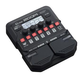Zoom G1 FOUR - pedaliera multieffetto - amp-simulator per chitarra