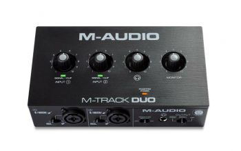 M-Audio M-Track Duo Interfaccia Audio USB a 2 Canali
