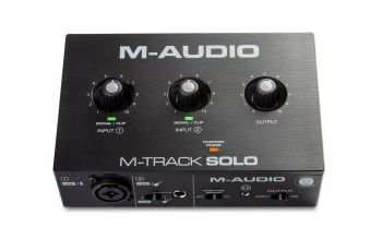 M-Audio M-Track Solo Interfaccia audio USB a 2 canali