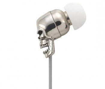 Gavio Metallon Sgull cuffie auricolari metalliche con microfono