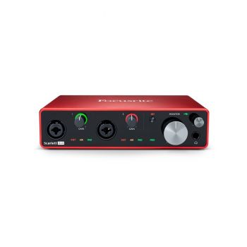 FOCUSRITE Scarlett 4i4 3rd Gen Interfaccia Audio USB