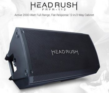 HeadRush FRFR-112 Speaker cabinet per HeadRush Pedalboard