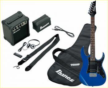 IBANEZ IJRG200-BL Jumpstart - blu - kit con ampli e cuffie PREZZO B-Stock