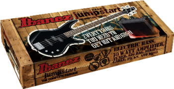 IBANEZ IJSR190-BK Jumpstart - nero - kit con amplificatore