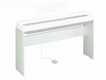 Yamaha L125 White Stand per Pianoforte Yamaha P125 Bianco