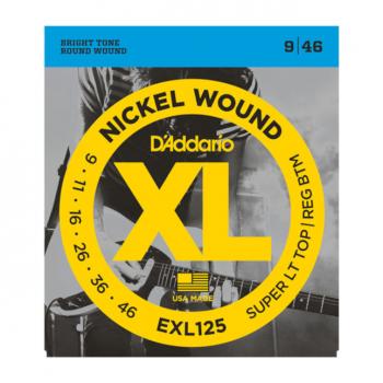 D'ADDARIO EXL125 CORDE ELETTRICA
