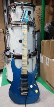 Ibanez RG670DX  Laser Blue - Made in Japan USATA