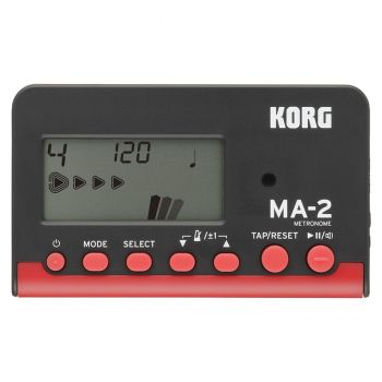 KORG MA-2 Metronome Black Red