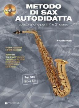 Metodo di Sax Autodidatta (con CD) Pepito Ros