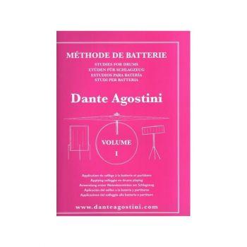 DANTE AGOSTINI MÉTHODE DE BATTERIE - VOLUME 1 METODO DI BATTERIA