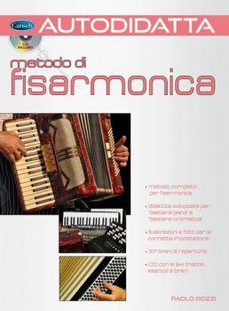 Autodidatta metodo di Fisarmonica con CD Rozzi Paolo