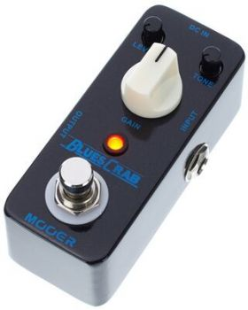 MOOER BLUES CRAB Overdrive AnalogicoTrue Bypass