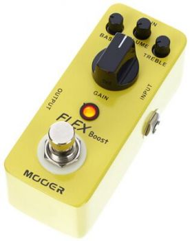 MOOER FLEX BOOST Boost / Overdrive AnalogicoTrue Bypass
