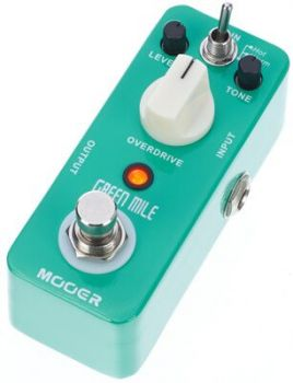 MOOER GREEN MILE Overdrive AnalogicoTrue Bypass