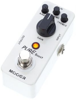 MOOER PURE BOOST Boost Analogico True Bypass