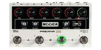 MOOER PREAMP LIVE Preamplificatore multicanale per chitarra elettrica