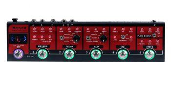 MOOER RED TRUCK. Pedaliera multieffetto per chitarra elettrica
