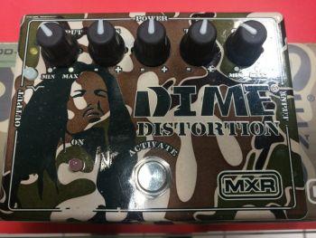 MXR Dime Distortion - DD11 Usato con imballo e alimentatore